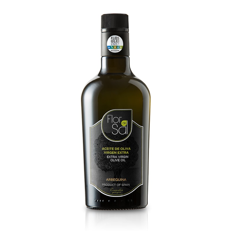 Aceite Flor de Sal Arbequina 500 ml